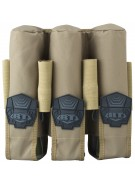 BT 3+4 Pod Pouch Paintball Harness - Tan