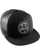 Bones Pentagram - Black - Mens Hat