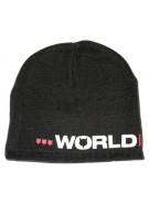 World Industries Logo - Black - Beanie