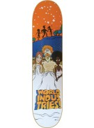 World Industries Three - Orange/White - 8 - Skateboard Deck
