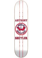 World Industries Shetlers Bo Sox - White - 8.1 - Skateboard Deck