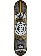 Element Nyjah Chains - Black/White - 8.12 - Skateboard Deck