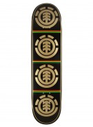 Element Rasta Quadrant - Black - 7.875 - Skateboard Deck