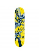 Alien Workshop Exp JJ Tri - Yellow/Blue - 8 - Skateboard Deck