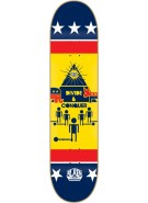 Alien Workshop Divide and Conquer - Yellow - 8.375 - Skateboard Deck