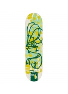 Alien Workshop MTaylor Sketchbook - Yellow - 8.0 - Skateboard Deck