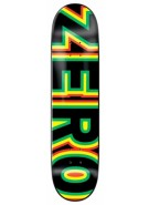 Zero Sandoval Signature Bold Deck - Red/Yellow/Green/Black - 7.75 - Skateboard Deck