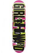 Girl Howard Big Girl - Pink - 7.81 - Skateboard Deck