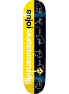 Enjoi Roadkill R7 - Yellow/Black - 8.1 - Skateboard Deck