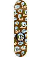 Enjoi Big Dollar Hunter R7 - Brown/Blue - 7.9 - Skateboard Deck