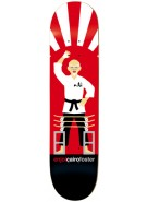 Enjoi Board Breaker R7 Cairo Foster - Red - 8.25 - Skateboard Deck