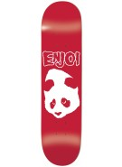 Enjoi Doesn't Fit R7 - Red - 8.25 - Skateboard Deck