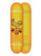 Habitat Garcia Rooster Blues - Orange - 8.125 - Skateboard Deck
