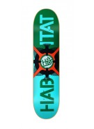 Habitat Avian Eclipse Small - Green/Blue - 7.75 - Skateboard Deck
