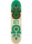 Habitat Mimeograph Series - Green/Tan - 7.75 - Skateboard Deck