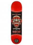 Habitat Silas Bali Mask - Red - 8.125 - Skateboard Deck