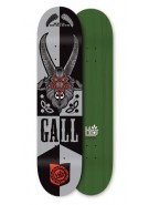 Habitat Gall Goat of Mendes Large - Silver/Black - 8.5 - Skateboard Deck