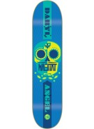 Habitat Angel Sugar Skull II Small - Blue - 8.18 - Skateboard Deck