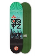Habitat Kerry Getz PHL Limited Large - Green - 8.125 - Skateboard Deck