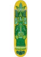 Habitat Silas Bigfoot - Yellow - 7.875 - Skateboard Deck