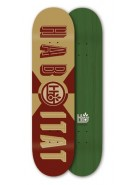 Habitat Headline Large - Gold/Red - 8.0 - Skateboard Deck