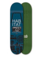 Habitat Point & Shoot Small - Navy - 8.125 - Skateboard Deck