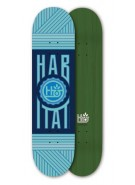 Habitat Strange Brew Large - Blue - 8.25 - Skateboard Deck