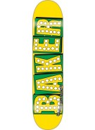 Baker Bake Junt - Yellow/Green - 7.75 - Skateboard Deck