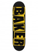 Baker Brand - Yellow/Black - 8.19 - Skateboard Deck