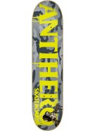Anti-Hero Cowhorn LG - Grey/Yellow - 8.38 - Skateboard Deck