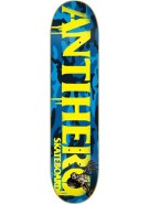 Anti-Hero Cowhorn SM - Blue/Yellow - 7.81 - Skateboard Deck
