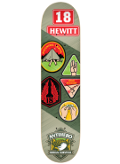 Anti-Hero Hewitt Demerit - Green - 8.5 - Skateboard Deck