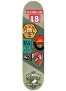 Anti-Hero Stranger Demerit - Green - 8.18 - Skateboard Deck