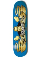 Anti-Hero Two Chicks One Dick - Blue/Yellow - 8.25 - Skateboard Deck