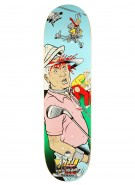 Anti-Hero Miorana Quadfeature - Blue/Green - 8.5 - Skateboard Deck