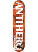 Anti-Hero cowhorn Xlg - Orange/White - 8.5 - Skateboard Deck