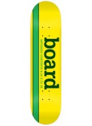 Anti-Hero Generic Yellow Board - Yellow/Green - 8.25 - Skateboard Deck