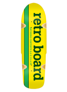 Anti-Hero Generic Yellow Board Retro - Yellow/Green - 9.9 - Skateboard Deck