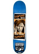 Anti-Hero Allen Help Dept - Blue/Orange - 8.18 - Skateboard Deck