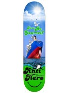 Anti-Hero Gerwer Cheer Up - Blue/Green - 8.25 - Skateboard Deck