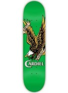 Anti-Hero Cardiel Haliaeetus LG - Green - 8.5 - Skateboard Deck