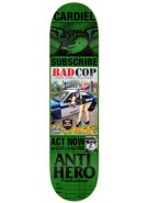 Anti-Hero Cardiel Issues - Green - 8.25 - Skateboard Deck