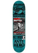 Anti-Hero Stranger Issues - Blue - 8.18 - Skateboard Deck