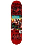 Anti-Hero Trujillo Issues - Red - 8.5 - Skateboard Deck