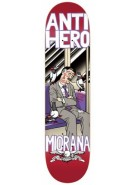 Anti-Hero Miorana One Eye Open - Red - 8.18 - Skateboard Deck
