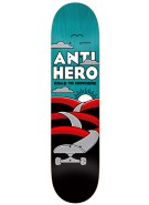 Anti-Hero Nowhere Small - Black/Blue - 7.81 - Skateboard Deck
