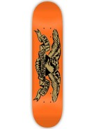 Anti-Hero Stencil Point PP Small - Orange - 7.75 - Skateboard Deck