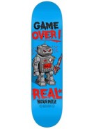 Real Busenitz Killbot Game - Blue - 8.06 - Skateboard Deck
