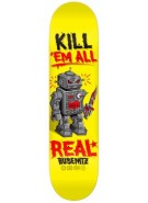 Real Busenitz Killbot Kill - Yellow - 8.38 - Skateboard Deck