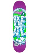 Real Popslickles II Medium - Purple/Green - 8.06 - Skateboard Deck